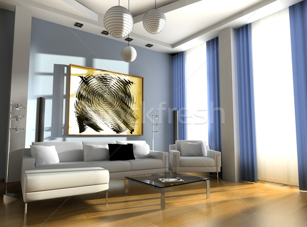 drawing room Stock photo © kash76