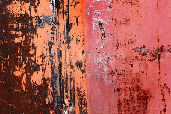 さびた 抽象的な 背景 金属 業界 ストックフォト © kash76