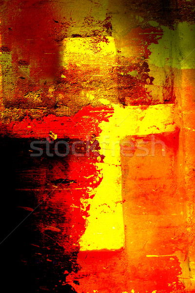 Foto stock: Christian · cruz · resumen · Pascua · papel · edificio