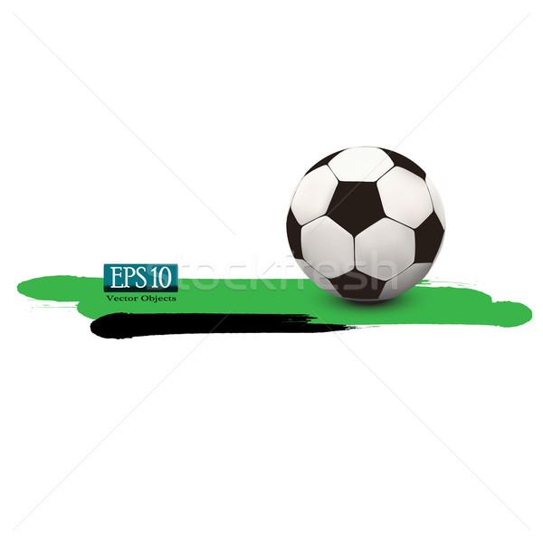 soccer ball Stock photo © kash76