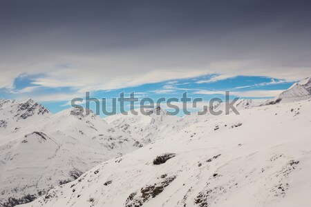 Beautiful winter landscape Stock photo © kasjato