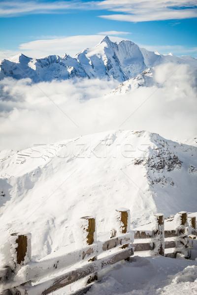 Noto sci resort alpi inverno cielo Foto d'archivio © kasjato