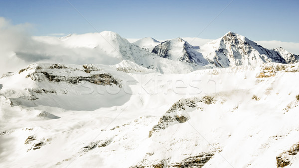 Beautiful winter landscape in austrian Alps Stock photo © kasjato