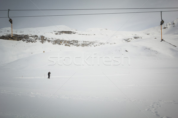 Cross-country skier  Stock photo © kasjato