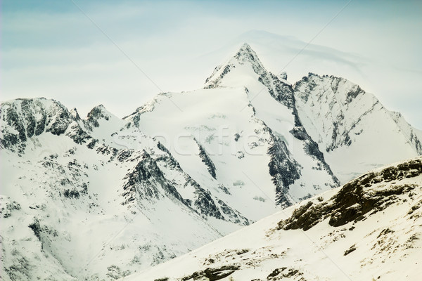 Highest peak of Austria, Grossglockner (3,798 m) Stock photo © kasjato