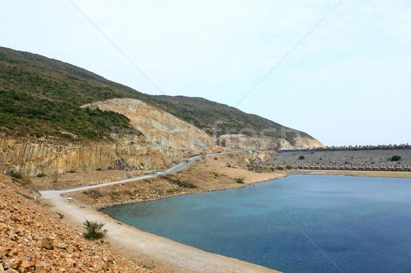 Hong Kong costa marinha parque céu paisagem Foto stock © kawing921