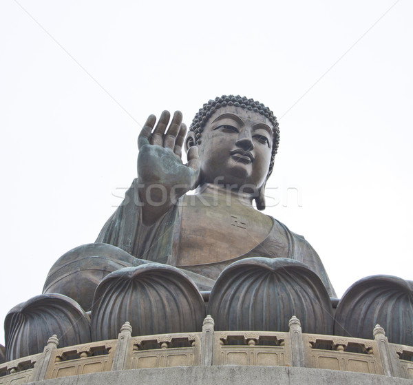 The Big Buddha in Hong Kong Lantau Island Stock photo © kawing921
