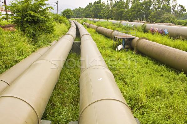 Industriali terra business erba lavoro tecnologia Foto d'archivio © kawing921