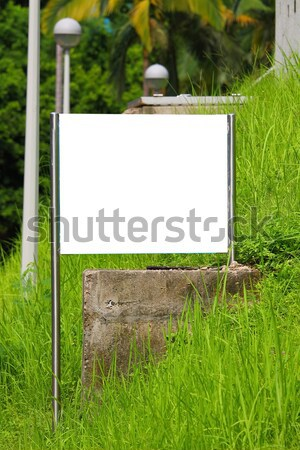 Blank billboard in countryside Stock photo © kawing921