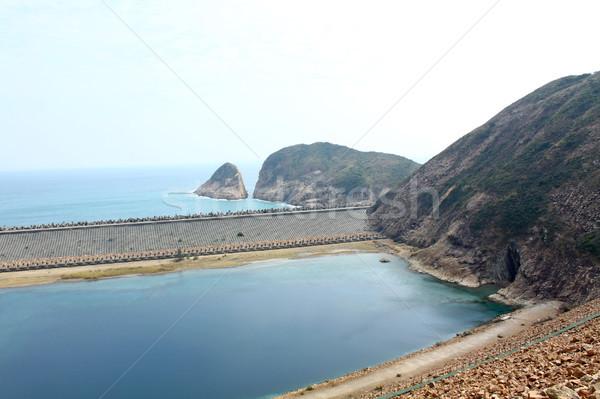 Morza Urwisko wybrzeża Hongkong wody Zdjęcia stock © kawing921