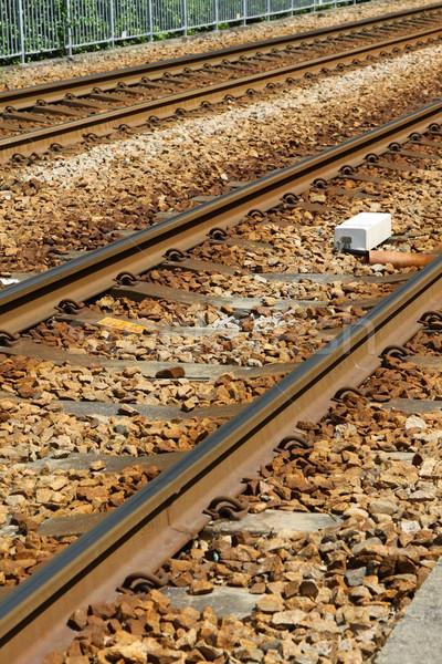 Railway in Hong Kong, light rail.  Stock photo © kawing921