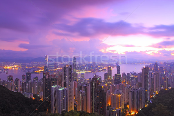 Hong Kong morning  Stock photo © kawing921