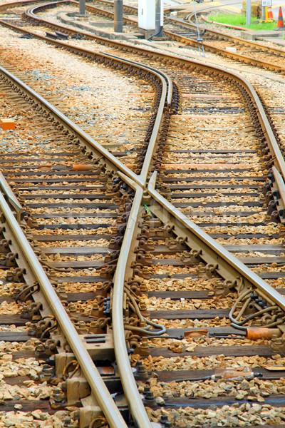 光 レール 交通 香港 道路 列車 ストックフォト © kawing921
