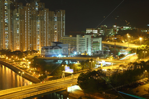 Hong Kong night view Stock photo © kawing921