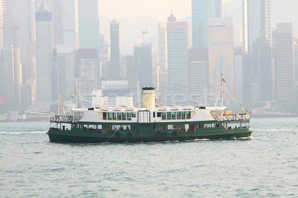 星 フェリー 香港 日 空 水 ストックフォト © kawing921