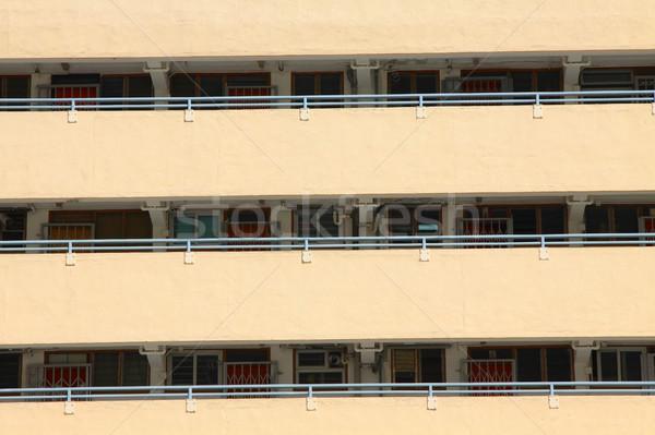 Hongkong obudowa domu tle miejskich Zdjęcia stock © kawing921