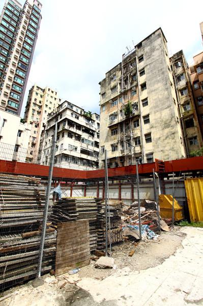 Construction site in Hong Kong Stock photo © kawing921