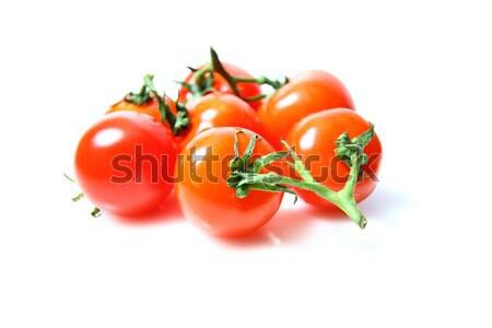 Cherry tomatoes isolated on white background Stock photo © kawing921