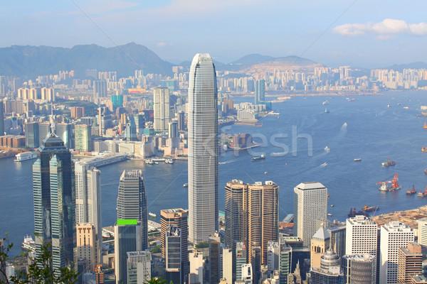 Hong Kong dag tijd kleur business Stockfoto © kawing921