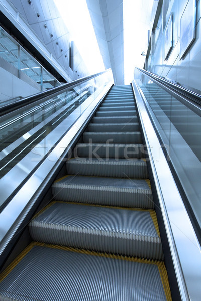 Moving escalator to heaven concept Stock photo © kawing921