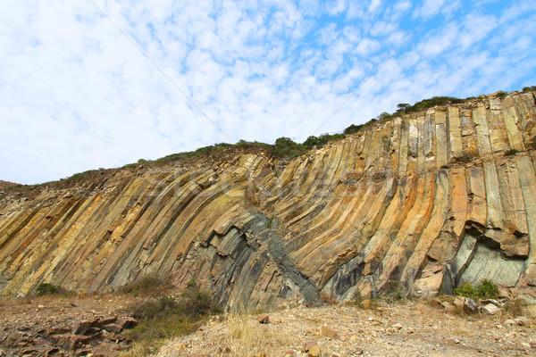 Rocks landscape in Hong Kong Geo Park Stock photo © kawing921