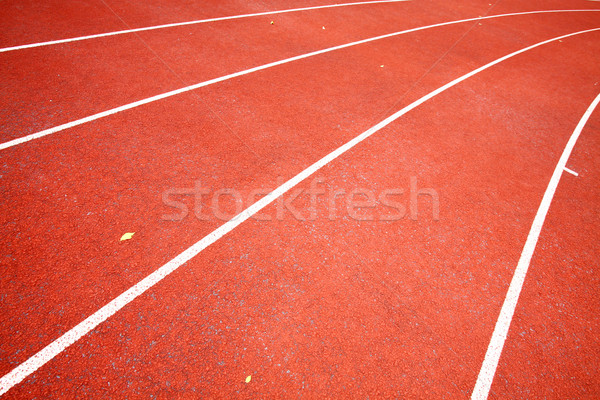 Uruchomiony utwór tle wykonywania uruchomić wyścigu Zdjęcia stock © kawing921