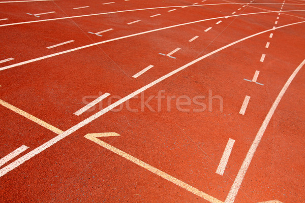 Corrida seguir fundo exercer correr raça Foto stock © kawing921