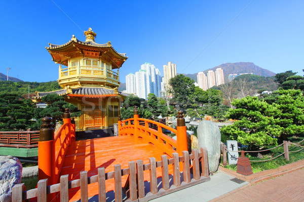 The Pavilion of Absolute Perfection in the Nan Lian Garden  Stock photo © kawing921