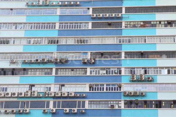 Industrial edifício escritório trabalhar vidro Foto stock © kawing921