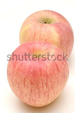 Maçãs isolado branco comida natureza maçã Foto stock © kawing921
