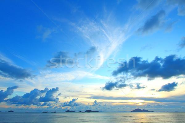 Seascape at day Stock photo © kawing921