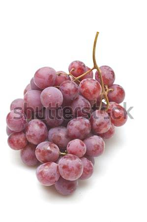 Red grapes isolated on white background Stock photo © kawing921
