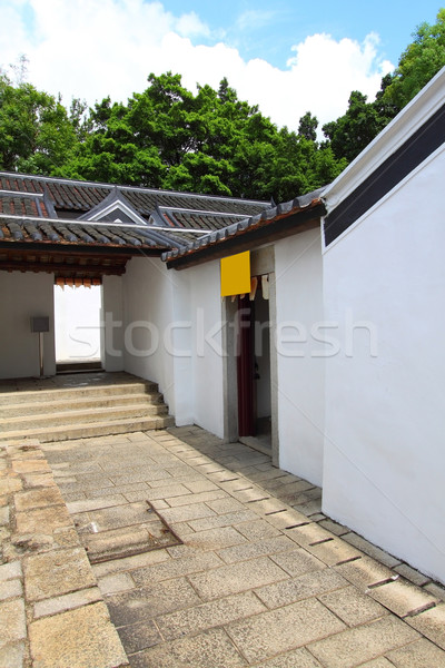 An old Hakka village in Hong Kong  Stock photo © kawing921