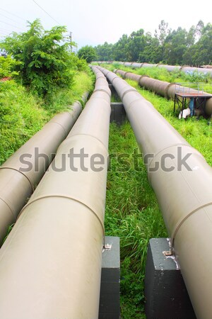 Metal water pipelines Stock photo © kawing921