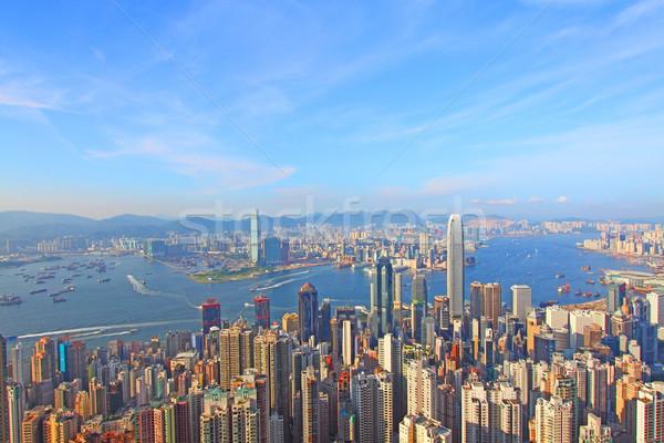 Hong Kong dia negócio escritório edifício cidade Foto stock © kawing921