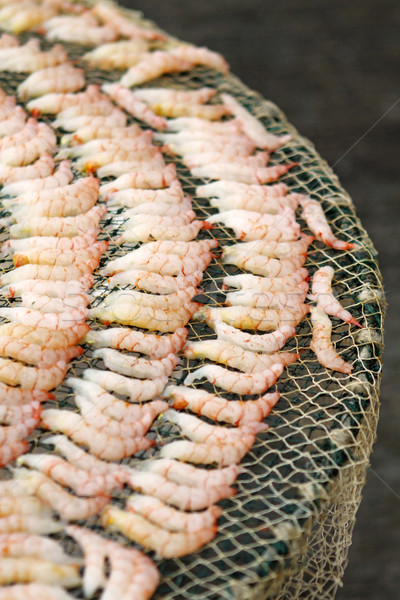 Dried shrimps in Chinese culture Stock photo © kawing921