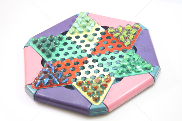 Chinese checkers game Stock photo © kawing921