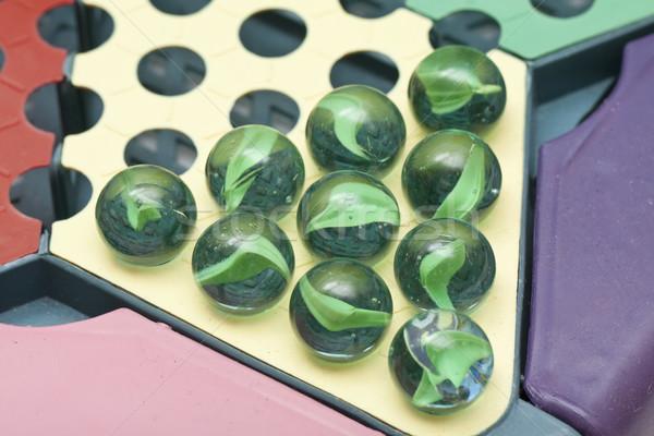 Chinese checkers, close-up. Stock photo © kawing921