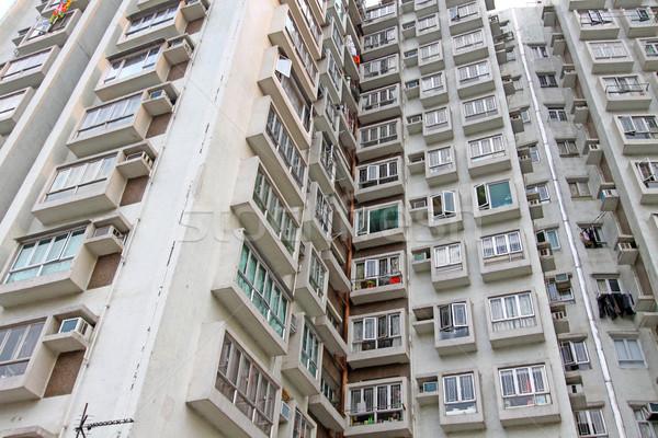 Hong Kong housing estate Stock photo © kawing921