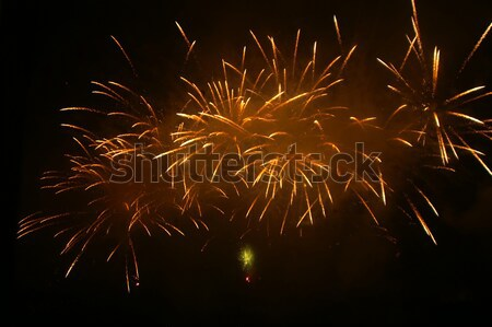 фейерверк высокий небе фон ночь Сток-фото © kaycee