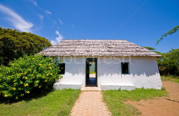 ancient slave house Stock photo © kaycee