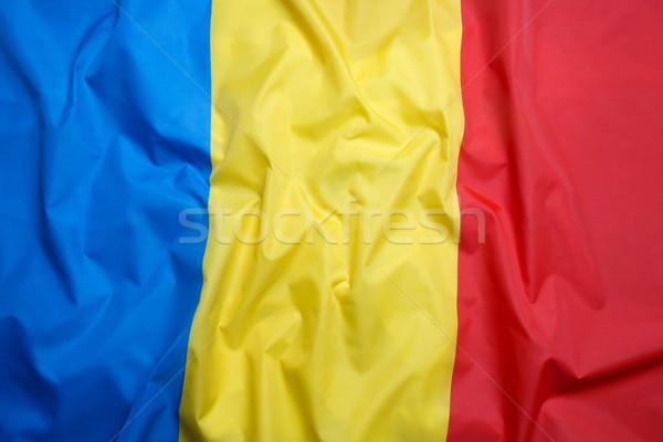 フラグ ルーマニア サッカー スポーツ 旅行 スイミング ストックフォト © kb-photodesign