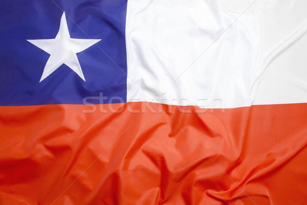 Bandeira Chile esportes viajar país economia Foto stock © kb-photodesign
