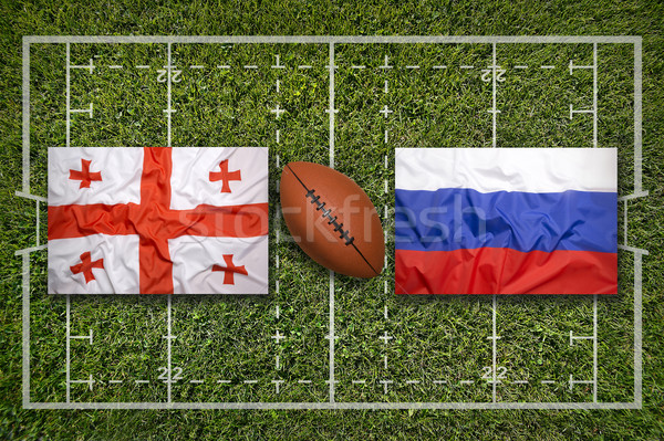 Stock photo: Georgia vs. Russia