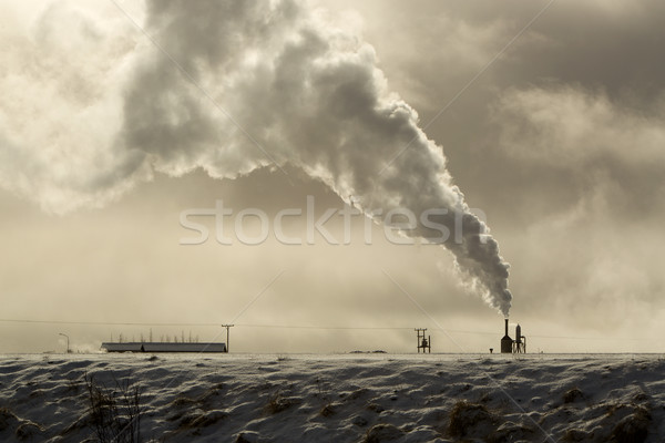 Geothermal energy in Iceland Stock photo © kb-photodesign