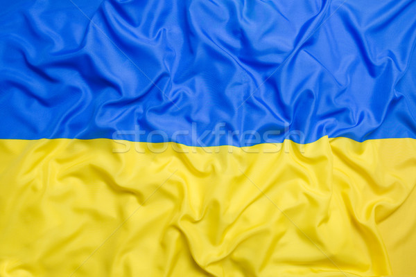 Flag of Ukraine Stock photo © kb-photodesign