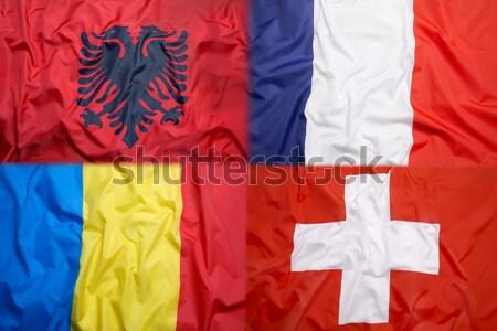 Eritrea flag vs. Bavarian flag  Stock photo © kb-photodesign