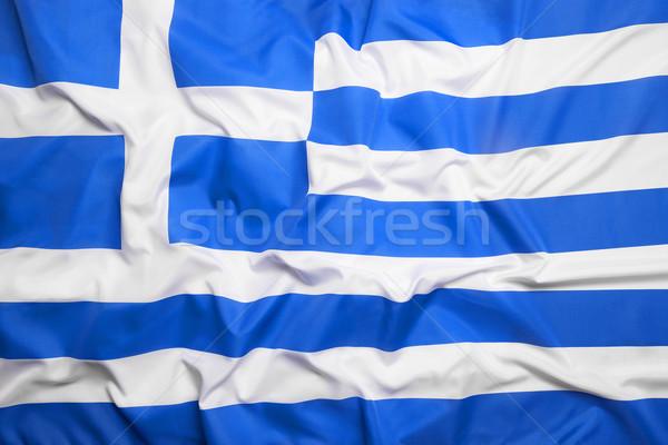 Bandiera Grecia sport viaggio Europa paese Foto d'archivio © kb-photodesign