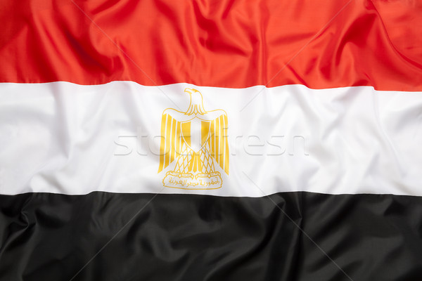 Textil zászló felirat szövet piros fekete Stock fotó © kb-photodesign