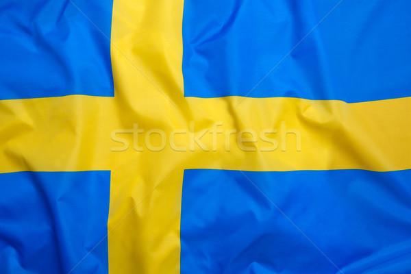 Bandiera Svezia calcio sport nuoto Europa Foto d'archivio © kb-photodesign
